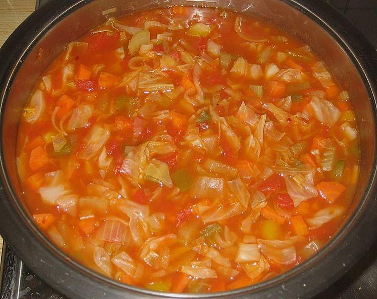 Wundersuppe / scharfe Gemüsesuppe by Rafaelo on www.rezeptwelt.de