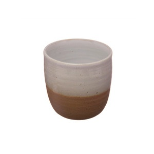 Shelley Panton Stoneware Cup - White on Red Clay