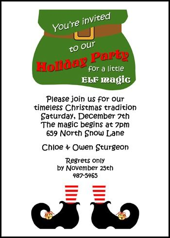 203 best Christmas Invitations for Your Holiday Parties images on - free xmas invitations