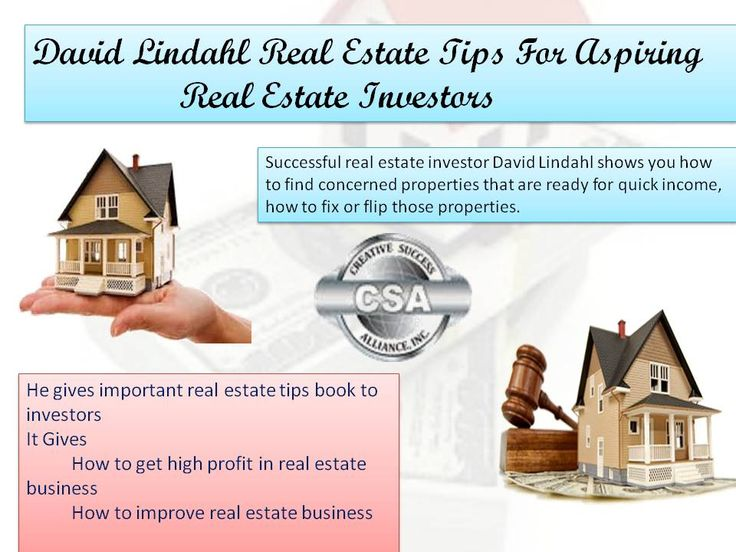 David lindahl real estate coaching tips is very easy to understand every one. He is an professional real estate advisor for buying and selling homes