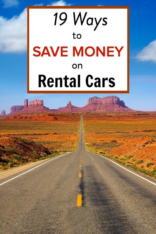 19 Ways to Save Money on Cheap Rental Cars. Plus the best website for booking deals online.