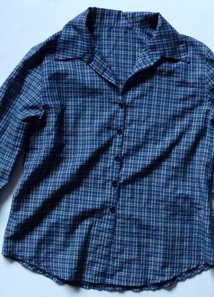Kup mój przedmiot na #vintedpl http://www.vinted.pl/damska-odziez/koszule/10232140-granatowa-koszula-w-kratke