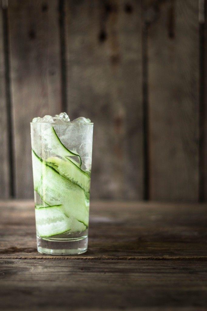 agurk ingefær drink / G&T / Cucumber cooler