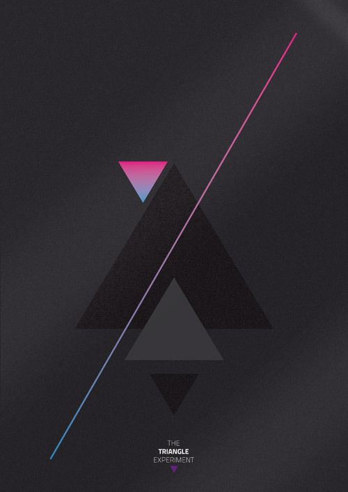 /Triangles Graphics, Triangles Experiments, Triangle Design, Triangle Logos, Yearbook Triangles