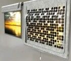 Energy Harvesting Eco-leaf Shade Doubles as a Light Source at Night