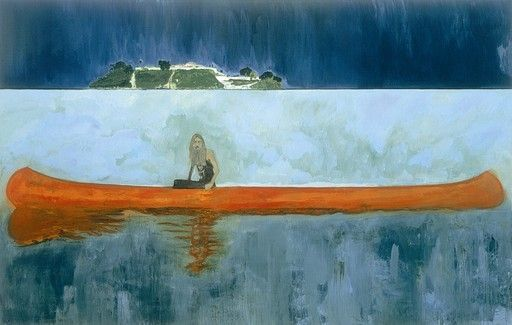 Peter Doig 100 Years Ago