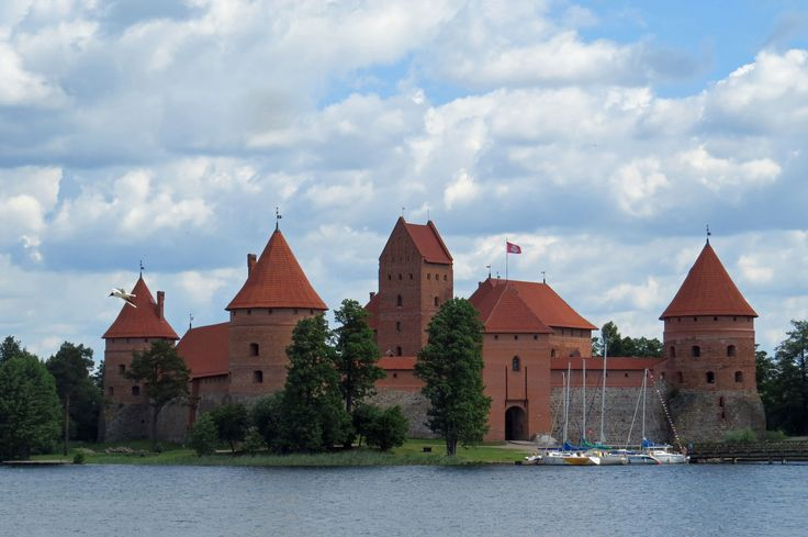 Enjoy a visit to the Trakai National Historic Park to contemplate the wonderfully restored fortified castle that dates back from the 13th Century - Photo by David Craig, Group Escort