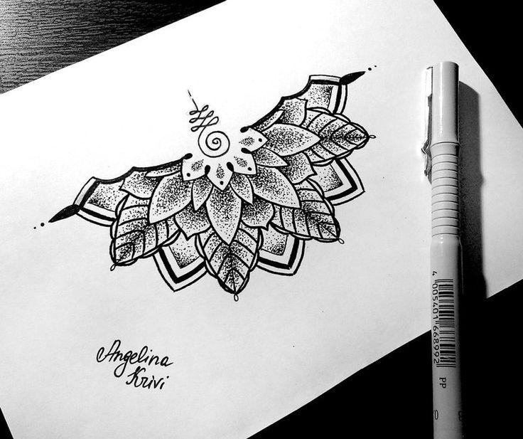 Best 25+ Half mandala tattoo ideas on Pinterest | Ankle ... - photo#25