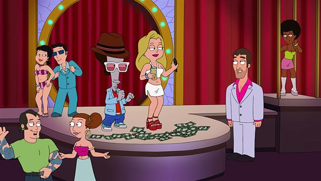 "American Dad TBS preview:  American Dad will premiere on TBS with ""Blonde Ambition."" Coincidentally, the episode plot involves Stan and Steve looking for a new home for the Smith family. Meanwhile, Hayley attempts to save the world but no one pays attention so she dyes her hair blond. The attention leads her to start working at a strip club though it's not the first time.  #funny #cartoon  http://l7world.com/2014/10/american-dad-tbs-preview.html"