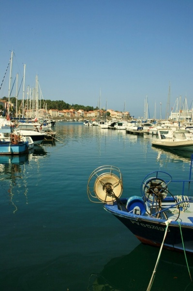 The harbour of Port Vendres