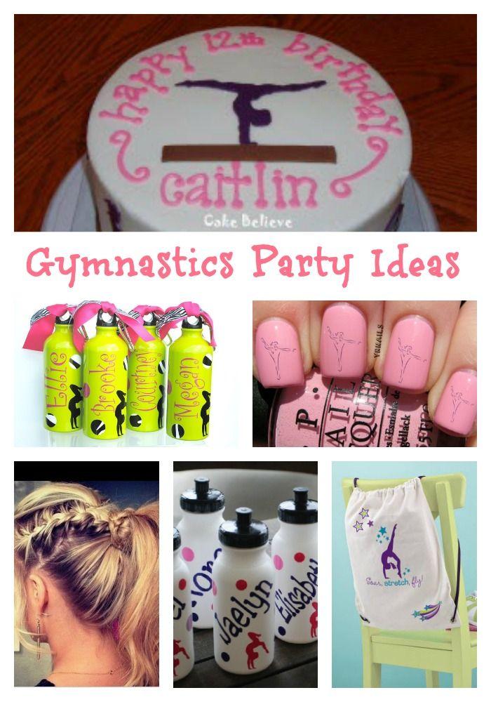 Gymnastics Party Ideas- Crafts & Activities