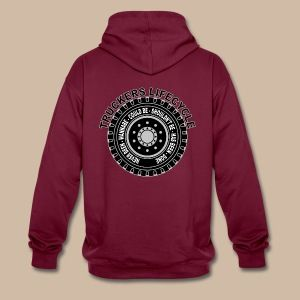 Truckers Lifecycle Hoodie - Kontrastihuppari