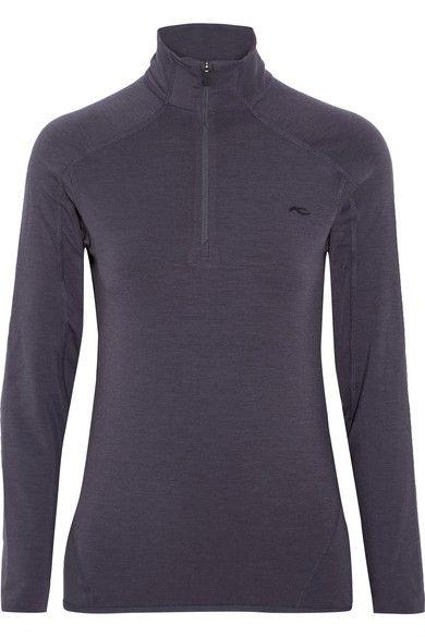 Kjus - Trace Stretch-jersey Top - Dark gray - FR36
