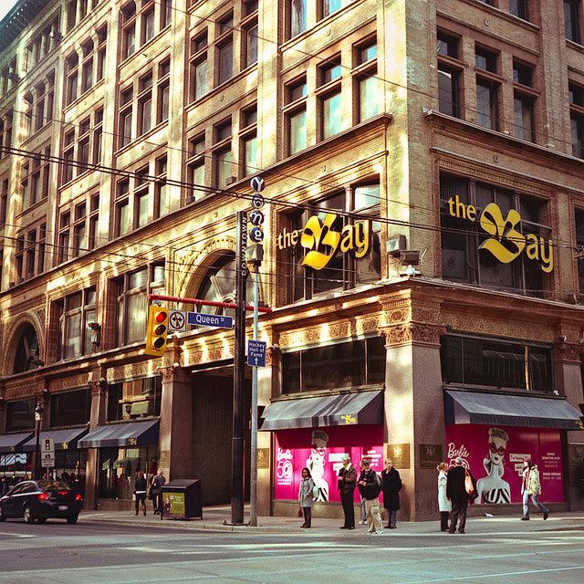 Yonge and Queen Streets, Toronto- now-'The Bay', formerly- the Robert Simpson Co.