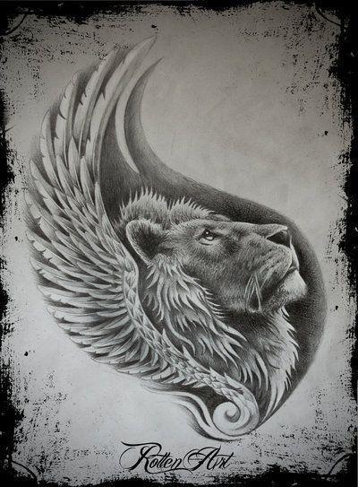 Bildergebnis für tumblr lion tattoo – #Bildergebn…