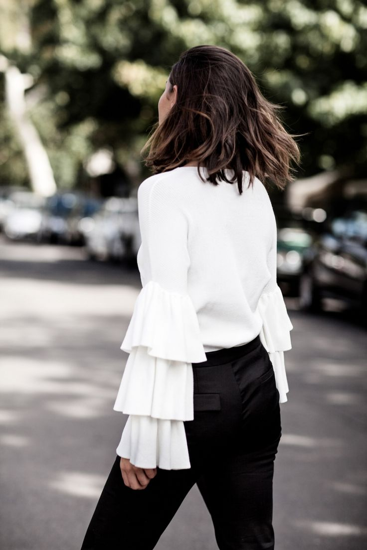 NEW BLOG POST - How to wear ruffles | Styling Advice | Harper and Harley