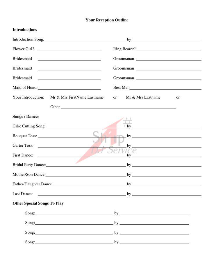 wedding ceremony outline examples | Wedding Ceremony Outline...