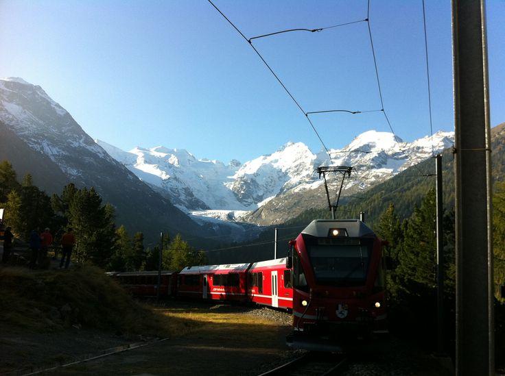 Die Rätische Bahn (Berninagebiet)