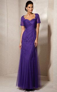 Charming Sweetheart Long Dress With Shirred Bodice and Beading