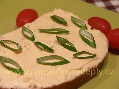 Bryndzovo-máslová pomazánka