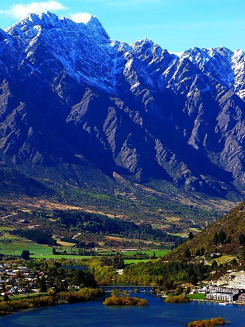 Queenstown and the Remarkable Ranges,  New Zealand - There's something very special here, the scenery is exhilarating.