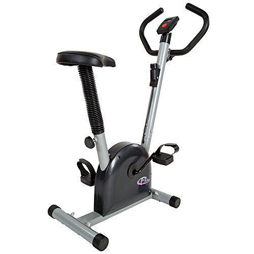 nice TecTake Maquina fitness bicicleta estatica   con monitor
