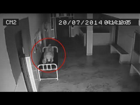 Cámara de seguridad graba alma saliendo de un muerto (VIDEO COMPLETO) - YouTube