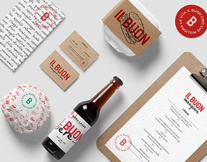 """Check out new work on my @Behance portfolio: """"IL BUON Brand identity"""" http://be.net/gallery/40891313/IL-BUON-Brand-identity"""