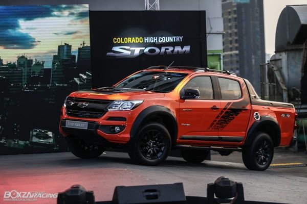 Chevrolet เผยโฉม Colorado High Country Storm ป 2019 ส ส ม Orange