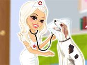 Free Online Girl Games, Help these sick animals get better as you help care for them in Friendly Veterinarian!  Make sure you look professional for your clients by picking out a doctor's outfit!  See what fun and creative styles you can come up with!, #friendly #vet #veterinarian #puppy #dog #pet #animal #cat #dressup #girl #dress