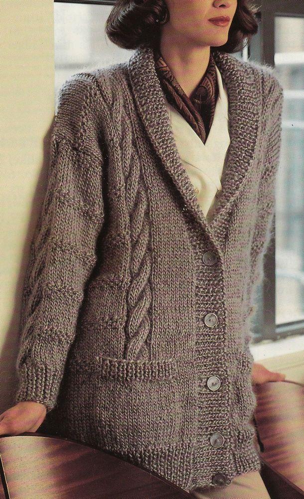 39 Best Coat Jackets Knitting Patterns Vintage Images On Pinterest