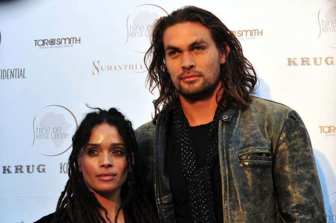 """Jason Momoa & Lisa Bonet The Hawaiian hunk and soon-to-be Aquaman is married to """"The Cosby Show"""" star Lisa Bonet. They've been together since 2007."""