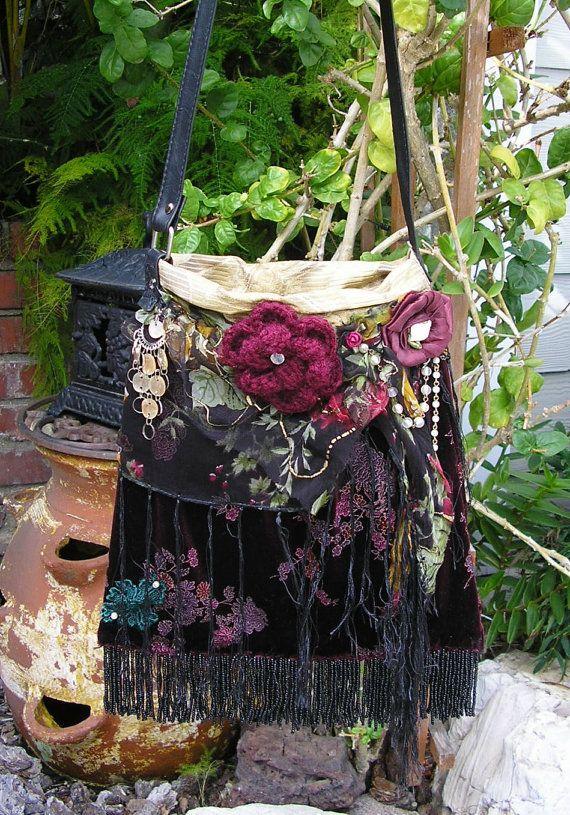 fringed gypsy bag