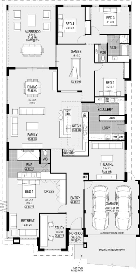 Indiana Platinum floorplan