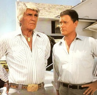 """""""Jock and J.R., Father and Son"""" - Dallas Jock and JR"""