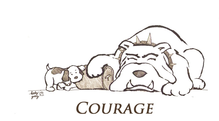 Courage - 8 May 2012