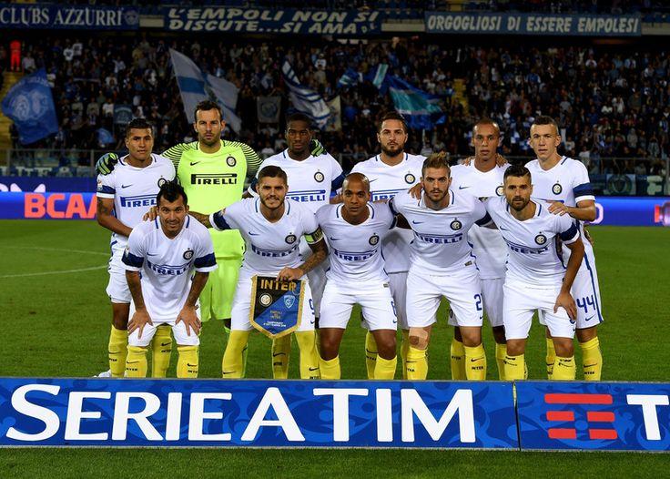 Gary Medel en el Empoli - Inter de Milan