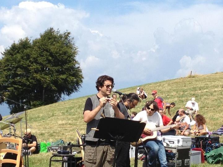 Samuele Bersani - Rifugio Todes-ci (9 agosto 2012) ©Stefania Menghini