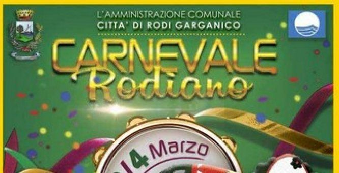 02 - 04 mar. 41° edizIone del Carnevale Rodiano.