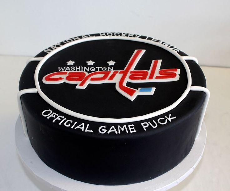 Washington Capitals cake! #NHL