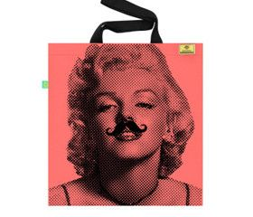MARISTACHE   Screen printed eco-friendly bag   by BAGNANAS