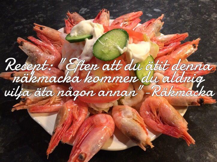 Recept: Räkmacka