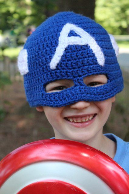 Harris Sisters GirlTalk: Captain America Hat