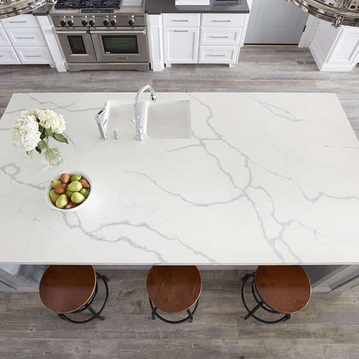 Bella Statuario Quartz Slab Arizona Tile Quartz Slab Quartz