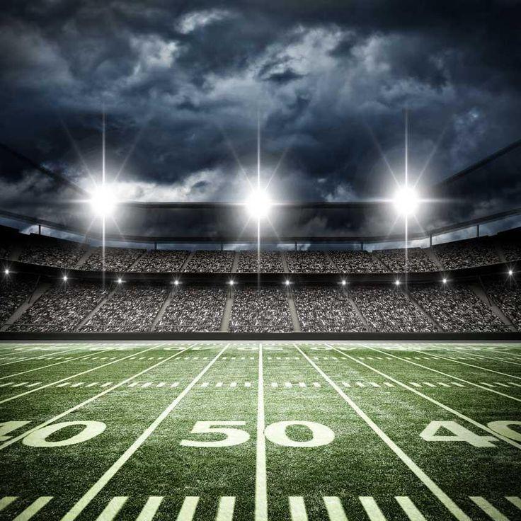 Football Stadium 50 Yard Line Backdrop 6327 Football