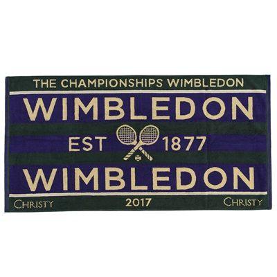 Wimbledon Mens 2017 Championship Towel