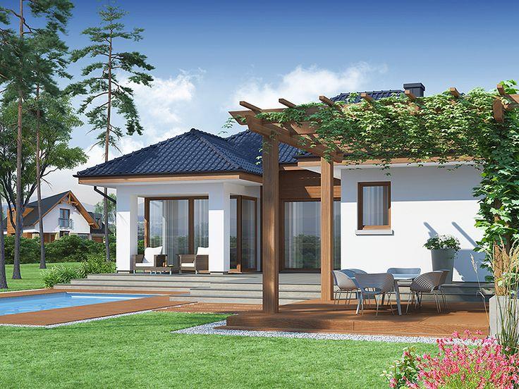 Proiecte de case cu living mare. Eleganta si confort in orice stil