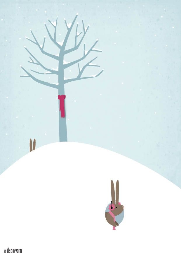koude konijntjes  #konijntjes #sneeuw #winter #winter # snow # rabbit ilseinvorm.nl
