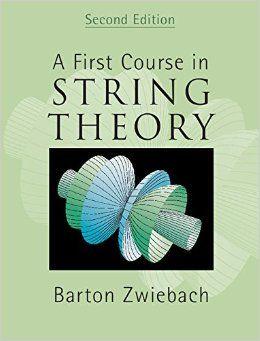 Resultado de imagen para first course in string theory