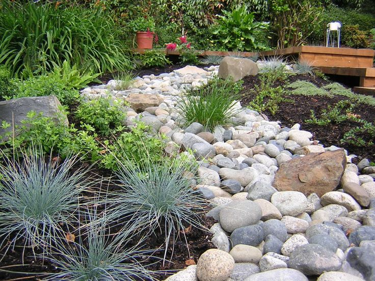 Pea Gravel Garden Front Yard | Gravel & stone types for a rockin' landscape
